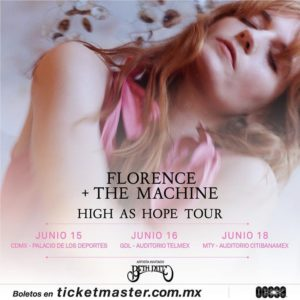 Florence + The Machine regresa a México